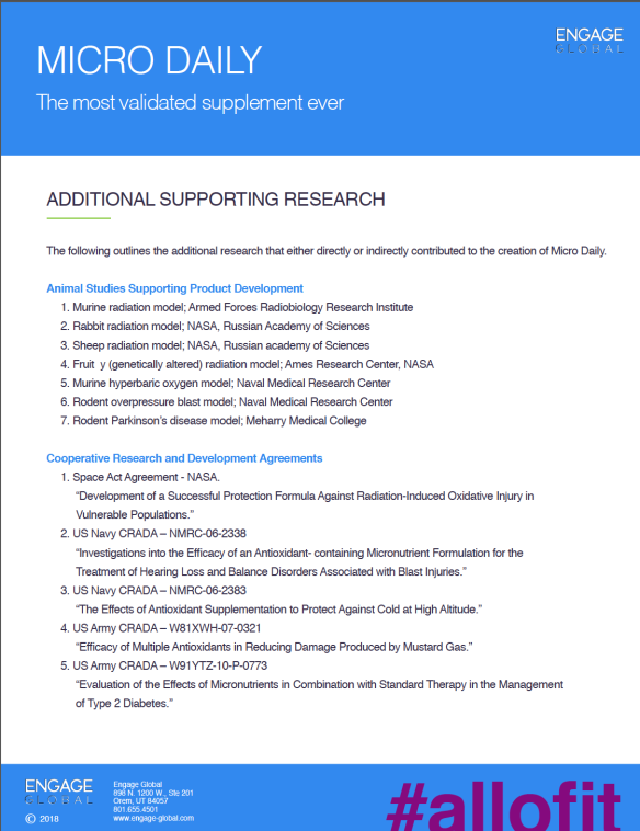 Patents, Clinical Trials & Research Page 2